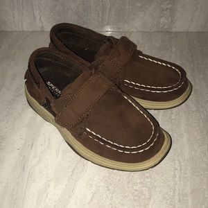 Sperry top sider Intrepid h&l boys 11M leather